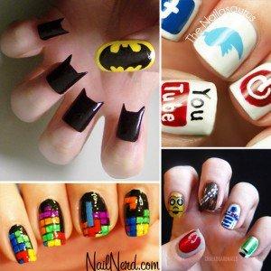 Geeky-Nail-Art